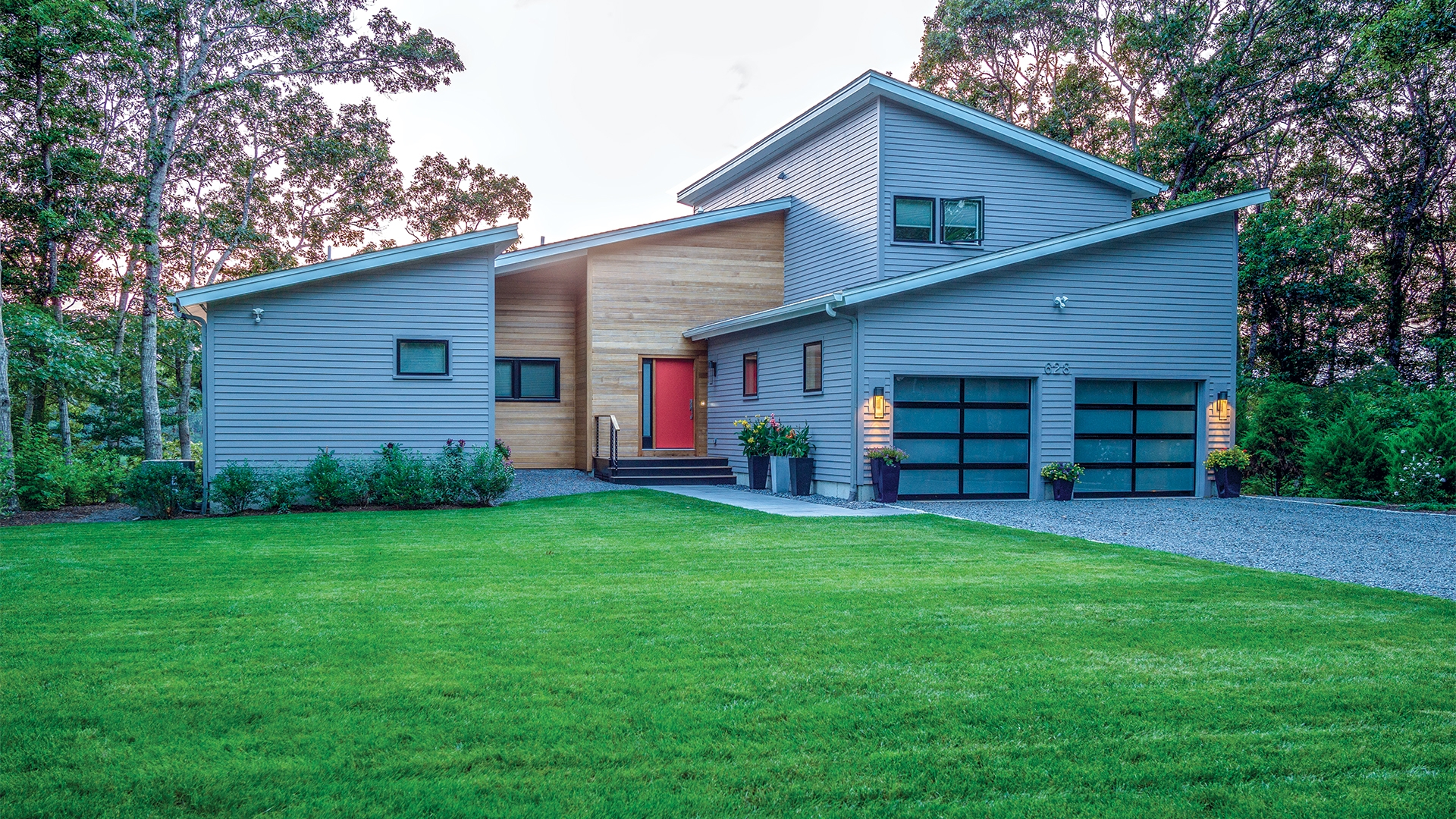 Mid Century Modern Home Cotuit