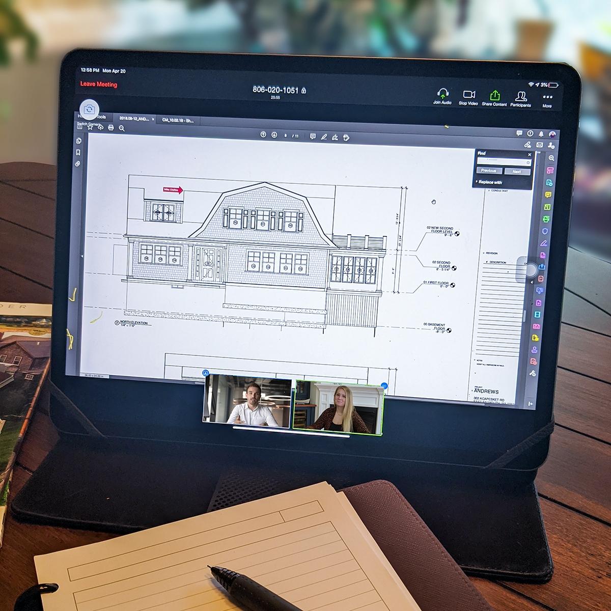 Zoom Design Meeting